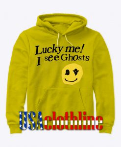 lucky me i see ghost hoodie