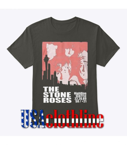 The Stone Roses Seattle Concert T-Shirt