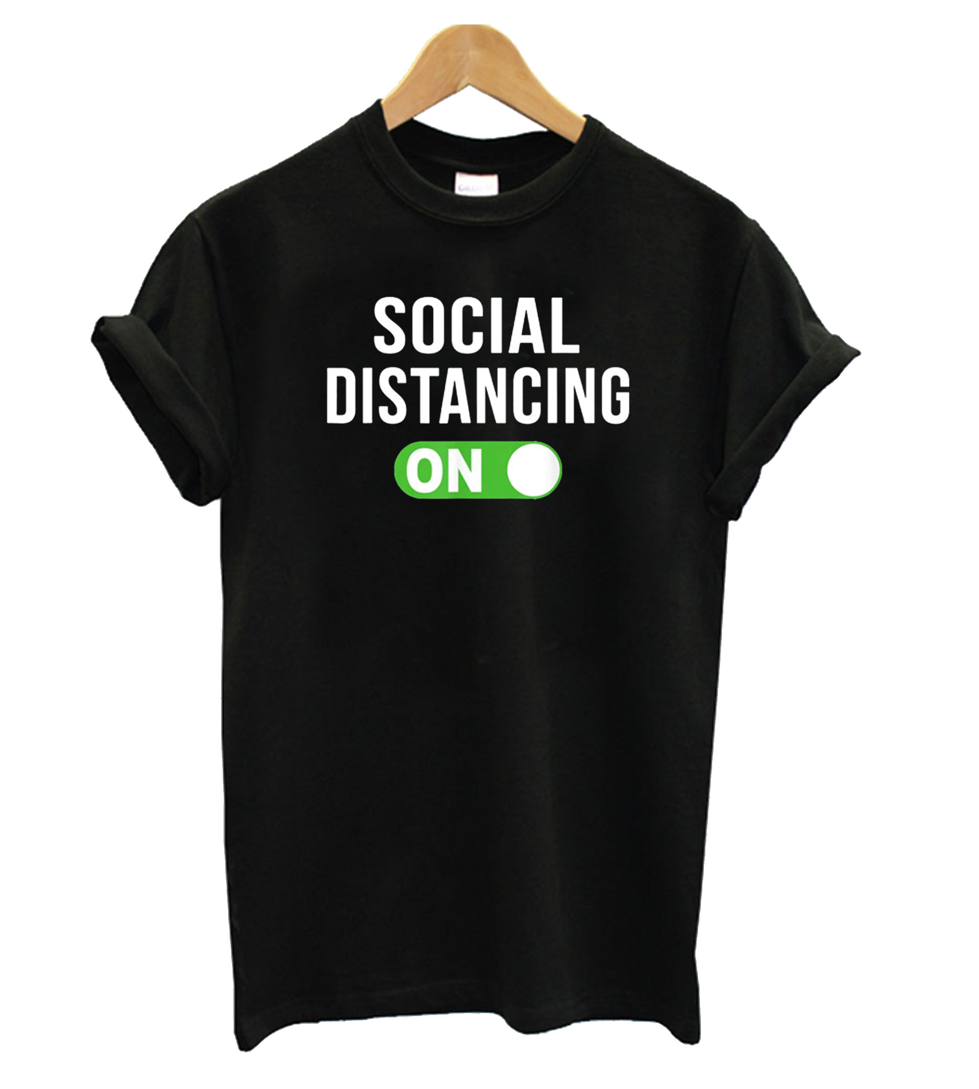 Social Distancing Mode On Social Distancing T shirt ZX03