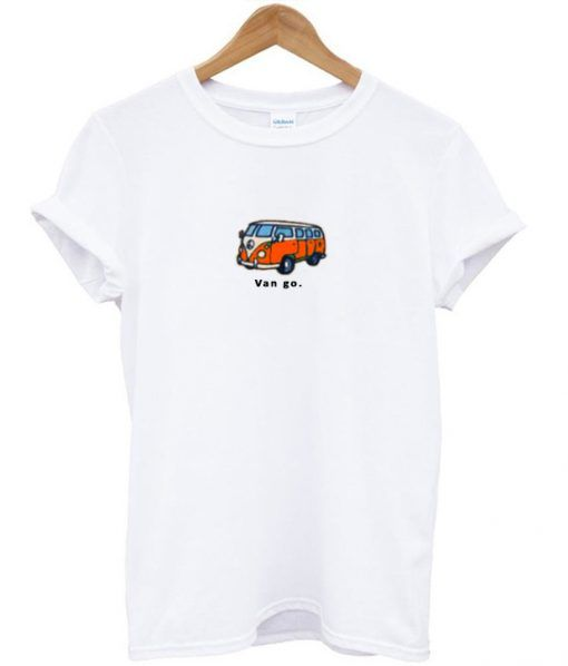Van Go Bus T-shirt RE23