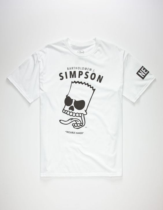TheSimpsons Bartholomew Mens T-Shirt ZX03