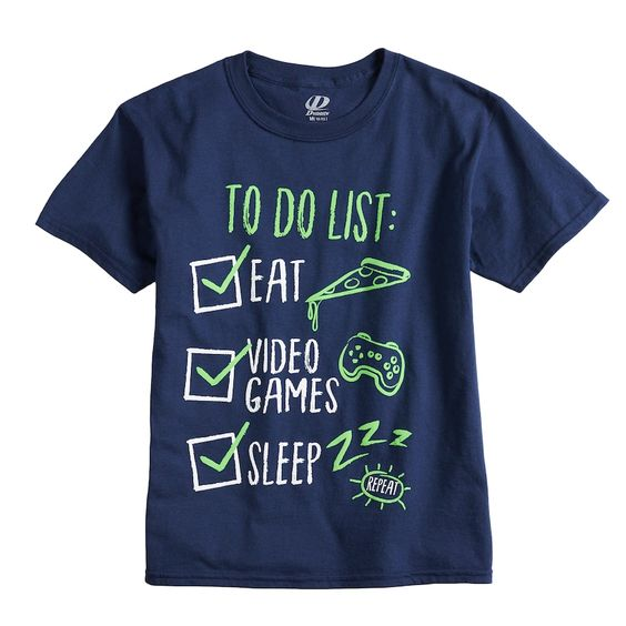 To Do List Ear Video Games  Sleep T-Shirt ZX03