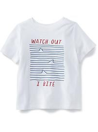 Watch Out I Bite T-Shirt ZX03